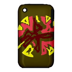 Abstract Design Apple Iphone 3g/3gs Hardshell Case (pc+silicone) by Valentinaart