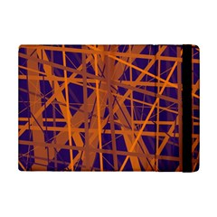 Blue And Orange Pattern Ipad Mini 2 Flip Cases by Valentinaart