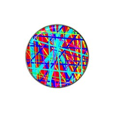 Colorful Pattern Hat Clip Ball Marker by Valentinaart