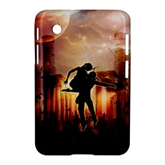 Dancing In The Night With Moon Nd Stars Samsung Galaxy Tab 2 (7 ) P3100 Hardshell Case  by FantasyWorld7