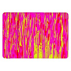 Pink And Yellow Pattern Samsung Galaxy Tab 8 9  P7300 Flip Case by Valentinaart