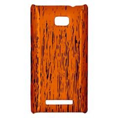 Orange pattern HTC 8X by Valentinaart