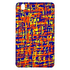 Orange, Blue And Yellow Pattern Samsung Galaxy Tab Pro 8 4 Hardshell Case by Valentinaart