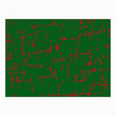 Green And Red Pattern Collage Prints by Valentinaart