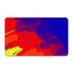 Colorful Pattern Magnet (rectangular) by Valentinaart