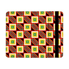 Squares And Rectangles Pattern                                                                                         			samsung Galaxy Tab Pro 8 4  Flip Case by LalyLauraFLM