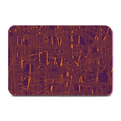 Purple Pattern Plate Mats by Valentinaart