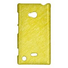 Yellow pattern Nokia Lumia 720 by Valentinaart