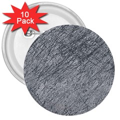 Gray Pattern 3  Buttons (10 Pack)  by Valentinaart