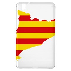 Flag Map Of Catalonia Samsung Galaxy Tab Pro 8.4 Hardshell Case