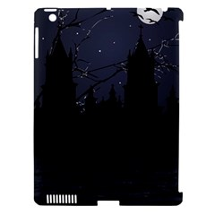 Dark Scene Illustration Apple Ipad 3/4 Hardshell Case (compatible With Smart Cover) by dflcprints