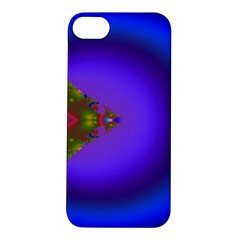 Into The Blue Fractal Apple Iphone 5s/ Se Hardshell Case by Fractalsandkaleidoscopes