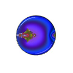 Into The Blue Fractal Hat Clip Ball Marker by Fractalsandkaleidoscopes