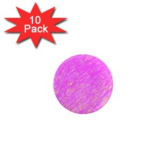Pink pattern 1  Mini Magnet (10 pack)  by Valentinaart