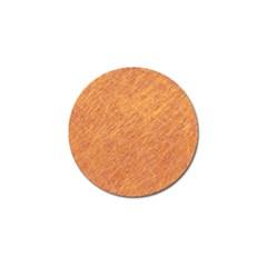 Orange Pattern Golf Ball Marker by Valentinaart