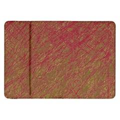 Brown Pattern Samsung Galaxy Tab 8 9  P7300 Flip Case by Valentinaart