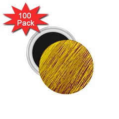 Yellow Van Gogh Pattern 1 75  Magnets (100 Pack)  by Valentinaart