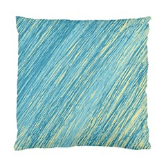 Light Blue Pattern Standard Cushion Case (two Sides) by Valentinaart