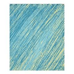 Light Blue Pattern Shower Curtain 60  X 72  (medium)  by Valentinaart