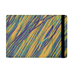 Blue and yellow Van Gogh pattern iPad Mini 2 Flip Cases