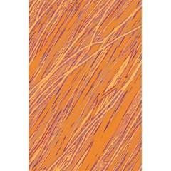 Orange Pattern 5 5  X 8 5  Notebooks by Valentinaart