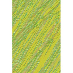 Green And Yellow Van Gogh Pattern 5 5  X 8 5  Notebooks by Valentinaart