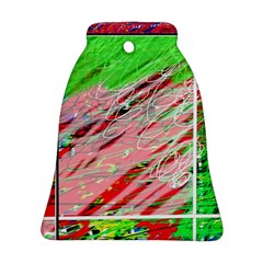 Colorful pattern Bell Ornament (2 Sides)