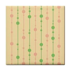Pastel Pattern Tile Coasters by Valentinaart