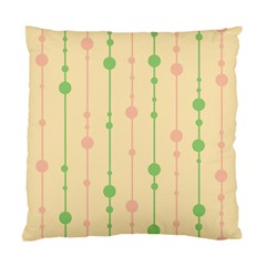 Pastel pattern Standard Cushion Case (Two Sides) by Valentinaart