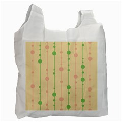 Pastel Pattern Recycle Bag (one Side) by Valentinaart