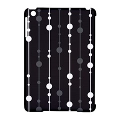 Black And White Pattern Apple Ipad Mini Hardshell Case (compatible With Smart Cover) by Valentinaart