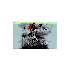 Dancing With Crows Cosmetic Bag (xs) by lvbart