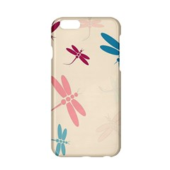 Pastel Dragonflies  Apple Iphone 6/6s Hardshell Case by Valentinaart