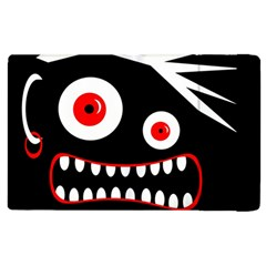 Crazy Monster Apple Ipad 3/4 Flip Case by Valentinaart