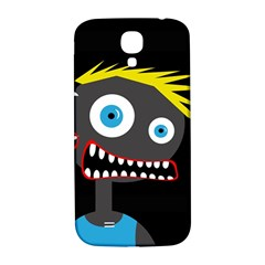 Crazy Man Samsung Galaxy S4 I9500/i9505  Hardshell Back Case by Valentinaart