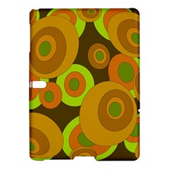 Brown Pattern Samsung Galaxy Tab S (10 5 ) Hardshell Case  by Valentinaart