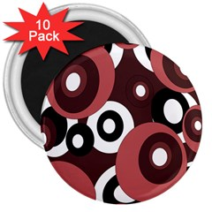 Decorative pattern 3  Magnets (10 pack)  by Valentinaart