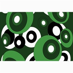 Green pattern Collage Prints by Valentinaart