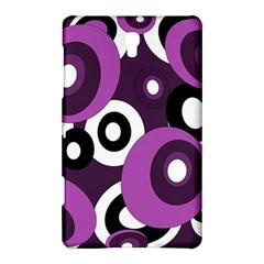Purple Pattern Samsung Galaxy Tab S (8 4 ) Hardshell Case  by Valentinaart