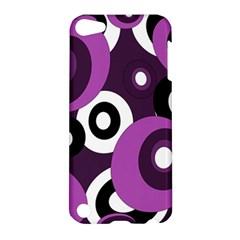 Purple Pattern Apple Ipod Touch 5 Hardshell Case by Valentinaart