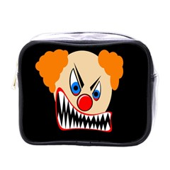 Evil Clown Mini Toiletries Bags by Valentinaart