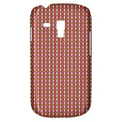 Mod Pink Green Pattern Samsung Galaxy S3 Mini I8190 Hardshell Case by BrightVibesDesign
