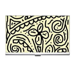 Artistic Abstraction Business Card Holders by Valentinaart