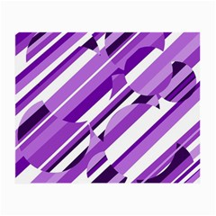 Purple pattern Small Glasses Cloth