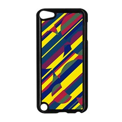 Colorful Pattern Apple Ipod Touch 5 Case (black) by Valentinaart