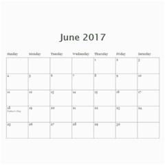 Sm Calendar By Megan Meier   Wall Calendar 11  X 8 5  (18 Months)   Ikxl6ywxheyc   Www Artscow Com Jun 2017