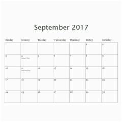 Sm Calendar By Megan Meier   Wall Calendar 11  X 8 5  (18 Months)   Ikxl6ywxheyc   Www Artscow Com Sep 2017