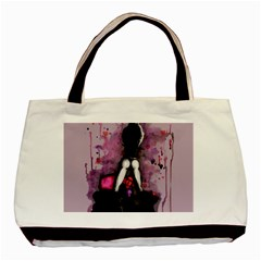 Make You Dirty Basic Tote Bag by lvbart