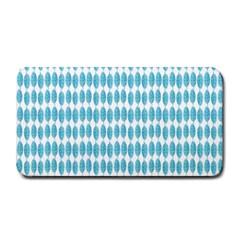 Blue Watercolour Leaf Pattern Medium Bar Mats by TanyaDraws