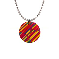 Colorful Hot Pattern Button Necklaces by Valentinaart